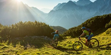 Mountainbikestrecken - Biketransport: Bergbahnen - Ehrwald - Tiroler Zugspitz Arena