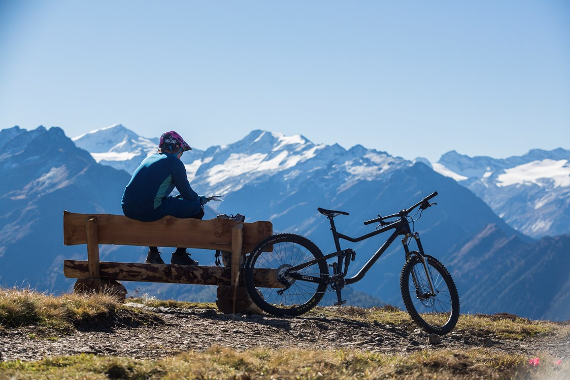 Mountainbike Region: Mountainbiken am Wildkogel - Wildkogel-Arena Neukirchen & Bramberg